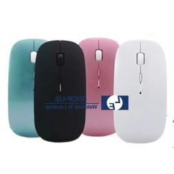 New Slim Wireless Bluetooth Optical Mouse Mice for Apple Mac