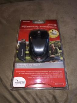 NEW Microsoft Wireless Notebook Optical Mouse 3000 1056/1051
