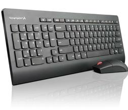 New Lenovo Wireless UltraSlim Keyboard & Mouse English + Por