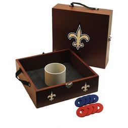 NFL Washer Toss Game Set - NFL Team: New Orleans Saints