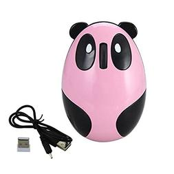 Novelty Cute 2.4Ghz Wireless Mouse Cartoon Animal Panda Shap