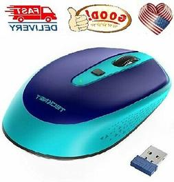 TECKNET Omni Small Portable 2.4G Wireless Optical Mouse with