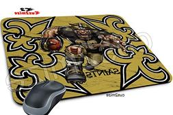 New Orleans Saints Mouse Pad New Orleans Saints Mousepad, So