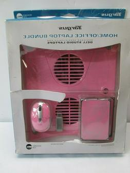 Targus Pink Laptop Accessory Bundle (Speakers, ChillMat,Wire