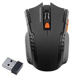 2.4Ghz Portable Wireless Optical Gaming Mouse Mice and USB R