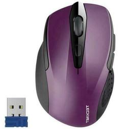 TeckNet Pro M003 2.4G Ergonomic Wireless Optical Mouse with