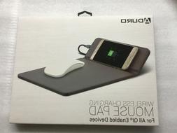 ADURO  Qi Wireless Fast Charging Mouse Pad Mat for iPhone X