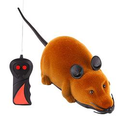 KAYI Real Mouse Electrical Toy Fur Mice Cat Toys RC Wireless