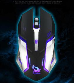Rechargeable Wireless Silent Gaming Mouse FREE WOLF On Hot S