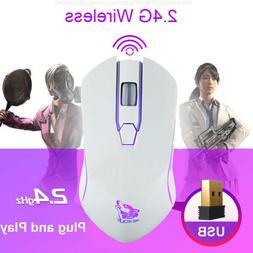 Rechargeable X9 Wireless Silent LED Backlit USB Optical Ergo