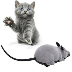 Remote Control Wireless Mouse Rat  Pet Cat Toy Interactive P