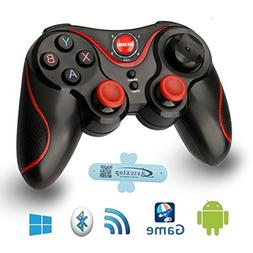 A-szcxtop S3 Bluetooth Gamepad wire wireless Rechargeable Ga