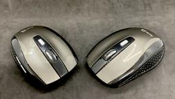 Set Of Two JETech Wireless Mice - Black & Gray