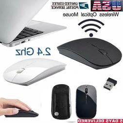 2.4GHz High Quality Wireless Optical Mouse/Mice + USB 2.0 Re