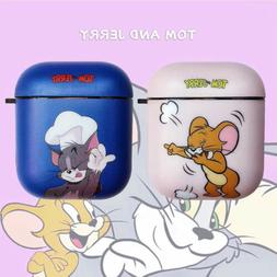 Tom and Jerry Wireless Bluetooth Earphone Case Charging Box