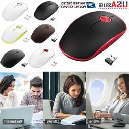 VicTsing Ultra Thin 2.4G Wireless Mouse Optical Mini Mice PC