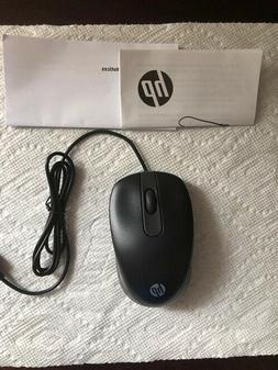 HP USB 2 Button Plus Scroll Wheel Travel Mouse 768453-001 Bl