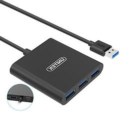 USB 3.0 Hub, UNITEK Aluminum Super Speed 4 Ports USB 3.0 Hub