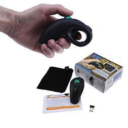 USB Wireless PC Laptop Finger HandHeld Trackball Mouse Mice