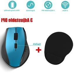 USB Wireless Mouse Optical PC Mice Laptop Computer Receiver