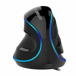 J-Tech Digital  Wired Ergonomic Vertical USB Mouse with Adju