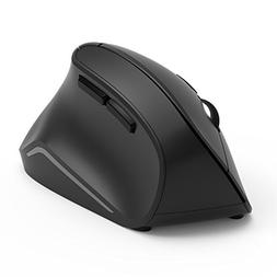 Vertical Mouse, Jelly Comb Ergonomic Wireless Mouse 2.4GHz O