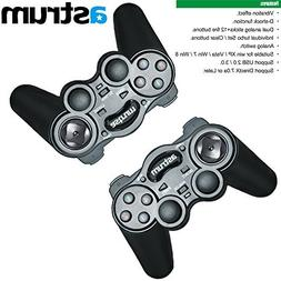 Astrum Vibe Twin USB Vibration Wired Gamepad Controller Gami