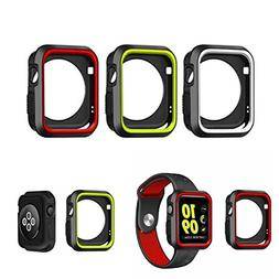 Watch Accessories - Sports Dual Colors Silicone Protective C