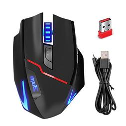 Zelotes F18 Wired 2.4G Wireless Gaming Mouse with 3200 DPI 7