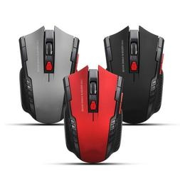 Wireless 2.4G Portable Gaming Optical Mouse Desktop Notebook