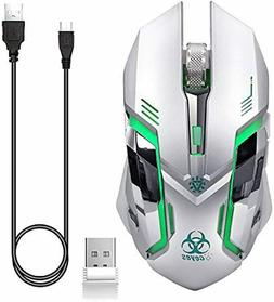 VEGCOO Wireless Bluetooth Gaming Mouse Laptop Notebook PC De