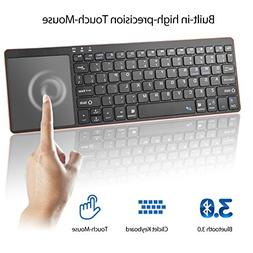 Alitoo Wireless Bluetooth Keyboard with Built-in Multi-Touch