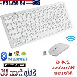 Wireless Bluetooth Keyboard and Optical Mouse Set for Laptop