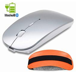 Bluetooth Wireless Mouse and Mouse Case Set - Tsmine Recharg