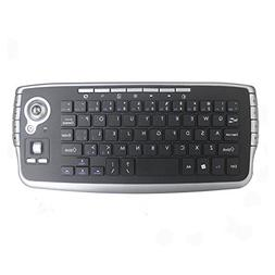 IIDEE 2.4GHz Wireless Compact Keyboard with Optical Trackbal
