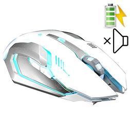LexonElec Wireless Ergonomic Mouse X7 2.4GHz Rechargeable Si
