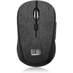 Adesso Wireless Fabric Optical Mini Mouse
