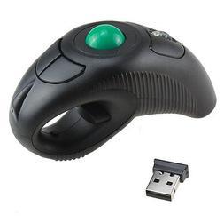 AGPtek Wireless Finger HandHeld USB Mouse Mice Trackball Mou
