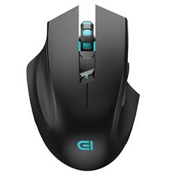Wireless Gaming Mouse,FOME I720 Ergonomic Right-handed Desig