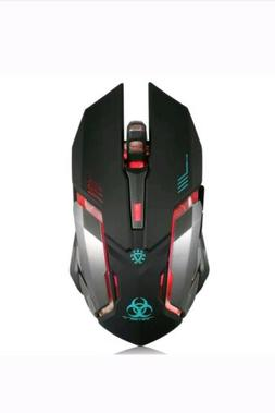 Wireless Gaming Mouse VEGCOO C8 Silent Click Wireless Rechar