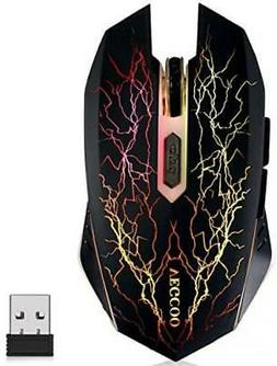 Wireless Gaming Mouse C8 Silent Click Wireless Rechargeable