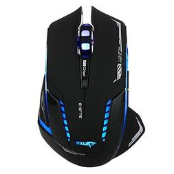 E-3LUE Wireless Gaming Mouse,2.4G Wireless Mouses Portable O