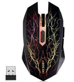 Wireless Gaming Mouse Rechargeable Silent RGB 1600 DPI VEGCO