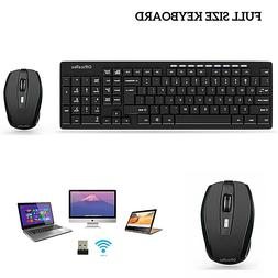 wireless keyboard and mouse combo desktop pc