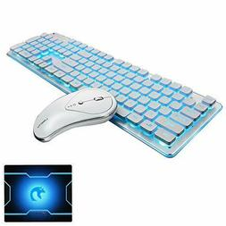 Wireless Keyboard And Mouse Combo Water Resistance 2.4G Gree