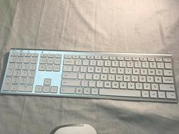 Jelly Comb Wireless Keyboard And Mouse White