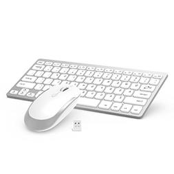 Wireless Keyboard Mouse 2.4GHz Ultra Thin Compact Portable S
