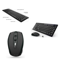 OfficeTec 2.4GHz Wireless Keyboard and Mouse Combo