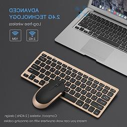 Wireless Keyboard Mouse Combos Combo Ultra Thin Compact Set
