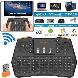 Wireless Keyboard Touchpad Mouse Combo For PC Smart TV Box A